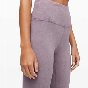 Lululemon frosted washed tights
